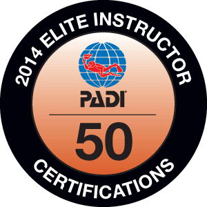 PADI Elite Instructor ebadge
